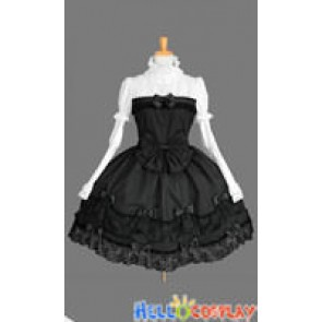 Gothic Punk Lolita Princess Sleeves Dress