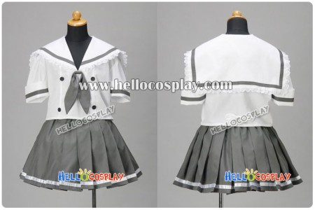 Lucky Star Cosplay Lucky Channel Akira Kogami Summer Dress