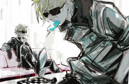 ACG Cosplay Black Sunglasses