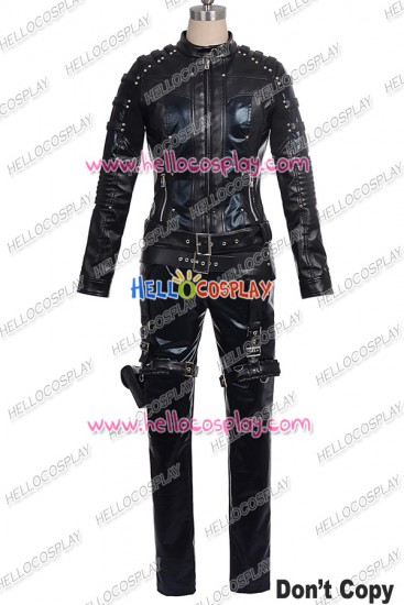 Green Arrow Dinah Laurel Lance Black Canary Cosplay Costume