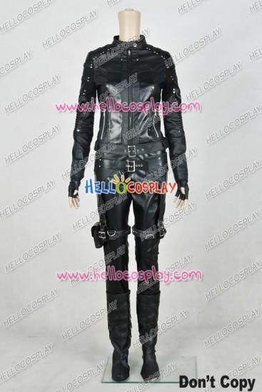 Green Arrow Dinah Laurel Lance Black Canary Cosplay Costume Uniform