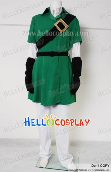 The Legend of Zelda Cosplay Link Costume