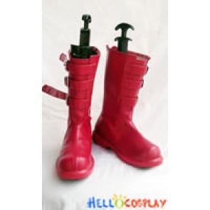 One Piece Cosplay Perona Princess Boots Red