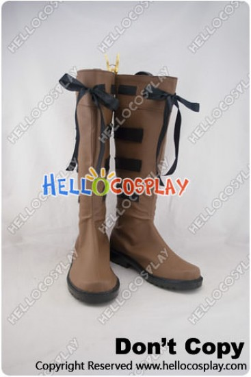 Touhou Project Cosplay Shoes Hakurei Meimu Boots