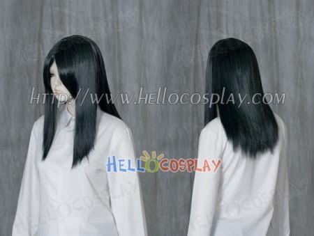 Darkest Cyan 50cm Cosplay Straight Wig