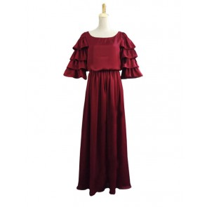 Victorian Lolita Edwardian Period Chiffon Punk Lolita Dress