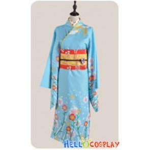 Puella Magi Madoka Magica Cosplay Madoka Kaname Kimono Costume