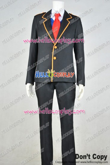 RWBY Cosplay Jaune Arc Beacon School Boy Uniform
