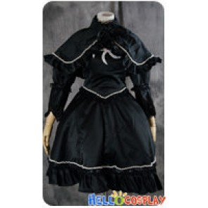 Gothic Lolita Cosplay Cat Witch Dress Costume