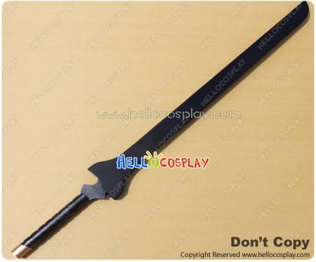 Black Rock Shooter Cosplay Black Blade Sword Prop New