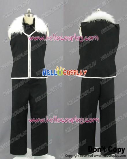 Fullmetal Alchemist Cosplay Greed Black Uniform Costume