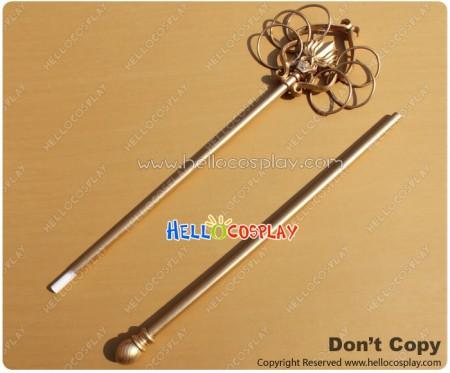 ZONE 00 Cosplay Bishamon Staff Stick Weapon Prop