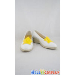 Cardcaptor Sakura Cosplay Shoes Sakura Kinomoto White Shoes