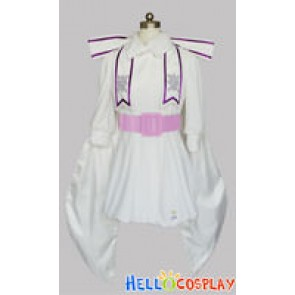 Macross Frontier Cosplay Sheryl Nome White Dress