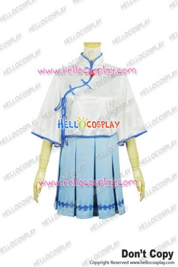 Vocaloid 3 Cosplay Luo Tianyi Dress
