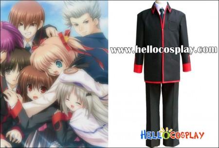 Little Busters Cosplay School Boy Uniform