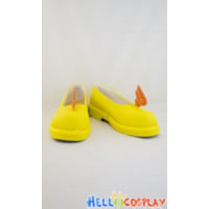 Cardcaptor Sakura Cosplay Shoes Sakura Kinomoto Shoes Yellow