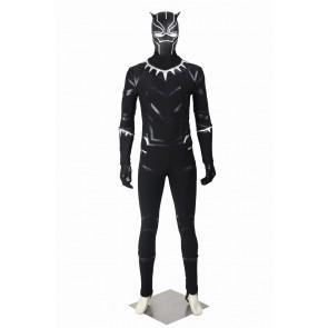 Captain America 3 Civil War Black Panther Cosplay Costume Uniform