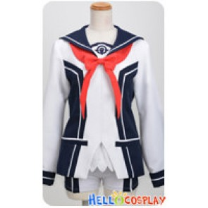 Vividred Operation Cosplay Akane Isshiki Girl Uniform Costume