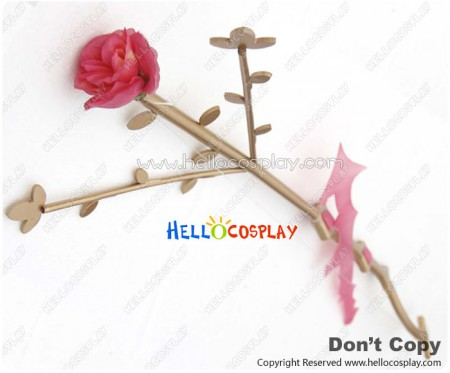 Puella Magi Madoka Magica Cosplay Madoka Kaname Flower Bow Prop