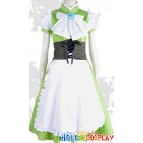 Vocaloid 2 Cosplay Hatsune Miku Green Dress