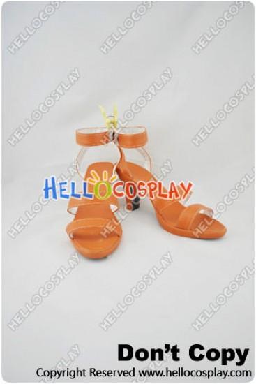 One Piece Cosplay Nami Shoes Orange