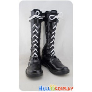 Elsword Cosplay Elsword Black Silver Boots