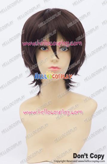 Wig 30CM Cosplay Dark Brown Ordinary Universal Short Layered