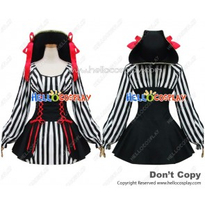 Angel Feather Cosplay Pirate Queen Jazz Dress Costume