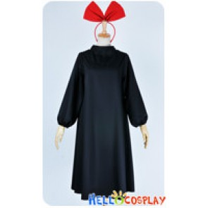 Kikis Delivery Service Majo No Takkyūbin Cosplay Kiki Costume Black Dress