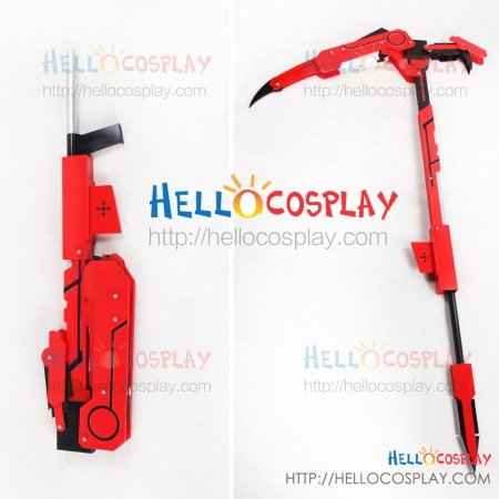 RWBY Cosplay Ruby Rose Crescent Rose Prop