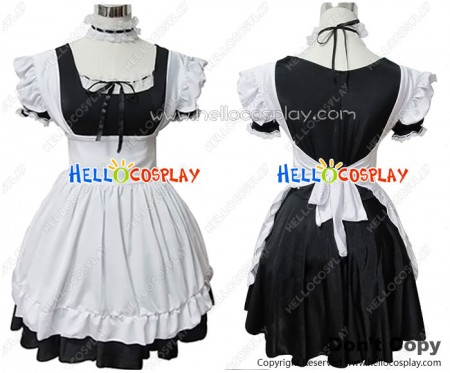 Angel Feather Cosplay Sweet Cute Costume Maid Dress