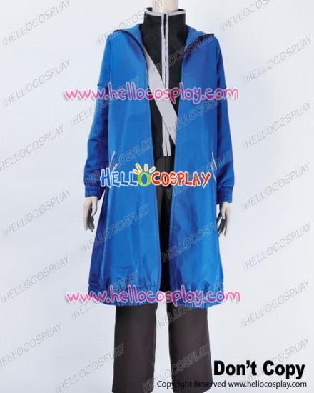 Karneval Cosplay Gareki Blue Coat Casual Suit Costume