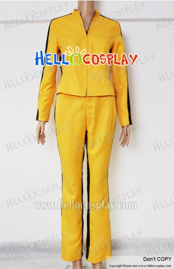 Kill Bill Cosplay The Bride Yellow Costume