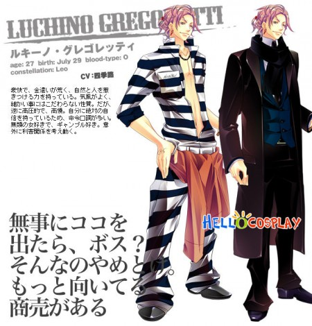 Lucky Dog 1 Cosplay Luchino Gregoretti Costume