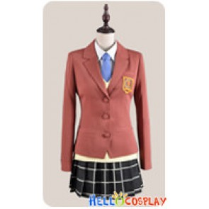 Tonari No Kaibutsu Kun My Little Monster Cosplay Shizuku Mizutani Costume Uniform