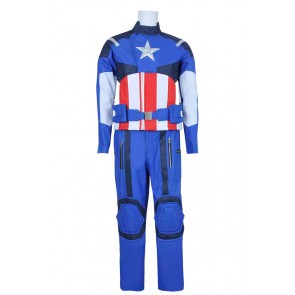 Captain America Steve Rogers Uniform Cosplay Costume
