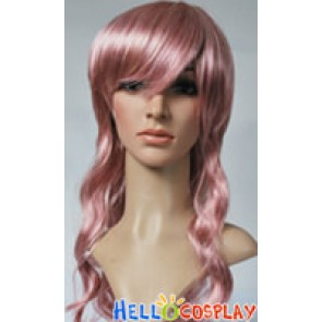 Final Fantasy Lightning Cosplay Pink Curly Wig
