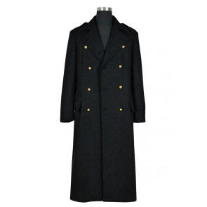 Doctor Torchwood Captain Jack Harkness Cosplay Costume Black Trench Coat