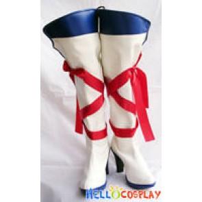 Vocaloid 2 Cosplay Kagamine Rin Boots British Gakuen Style