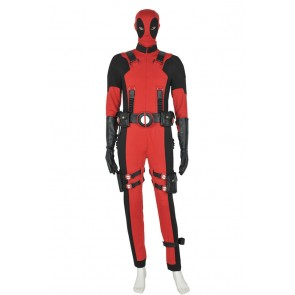 Deadpool Wade Wilson Jumpsuit Cosplay Costume Cotton