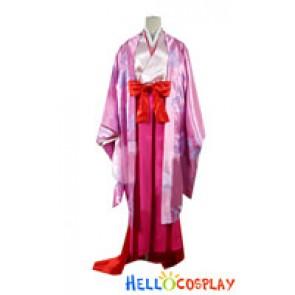 Nurarihyon No Mago Cosplay Sakura Hime Costume Kimono