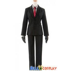 Inu x Boku SS Cosplay Sōshi Miketsukami Zange Natsume Costume Black Suit