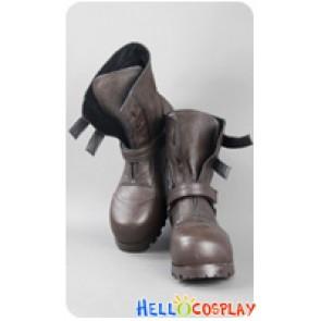 Fullmetal Alchemist Cosplay Edward Elric Brown Short Boots