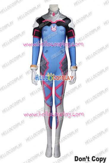Overwatch D Va Cosplay Costume Uniform