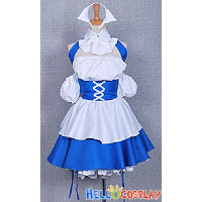 Chobits Cosplay Chii Blue Maid Dress