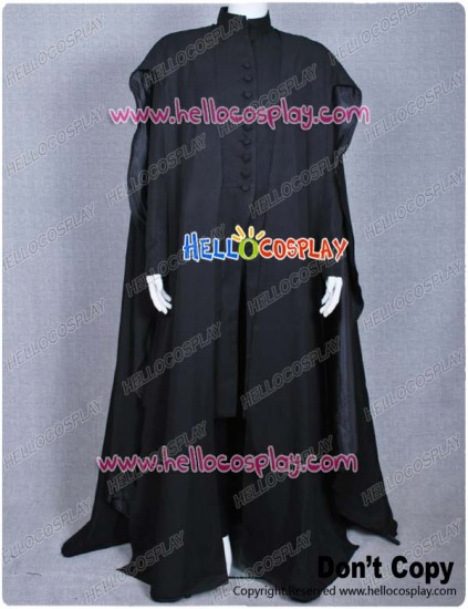 Harry Potter Deathly Hallows Severus Snape Costume