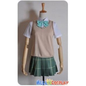 To LOVE Darkness Cosplay Momo Costume School Girl Uniform
