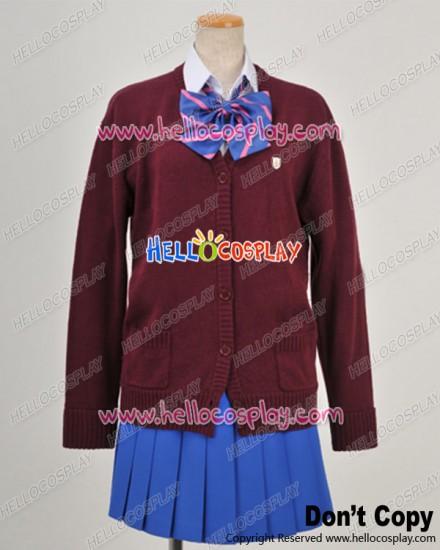 Macross Frontier Hybrid Pack Cosplay Ranka Lee Uniform Costume