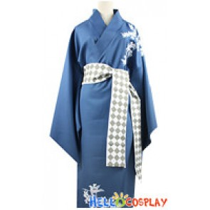 Amnesia Cosplay IKKI Costume Bathrobe Dress